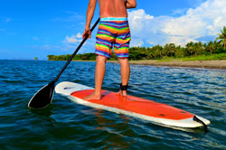 stand up paddle in flores